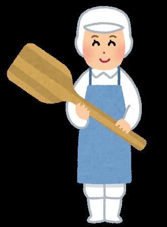 料理人のおばさん