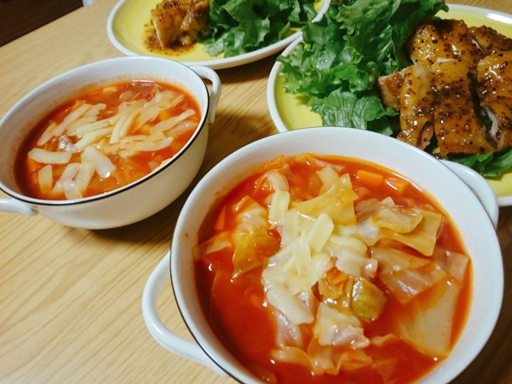 簡単トマトスープレシピでいっぱい食べて体も健康ダイエットをしよう