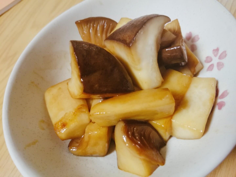 エリンギのバター焼きの写真